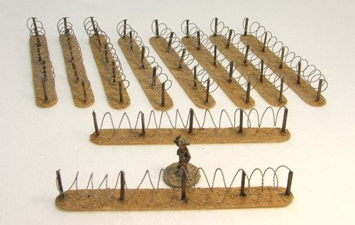 Barbed Wire Fencing Pack (Desert)