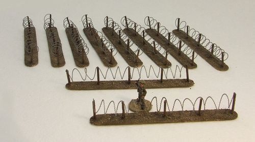 Barbed Wire Fencing Pack (Mud)