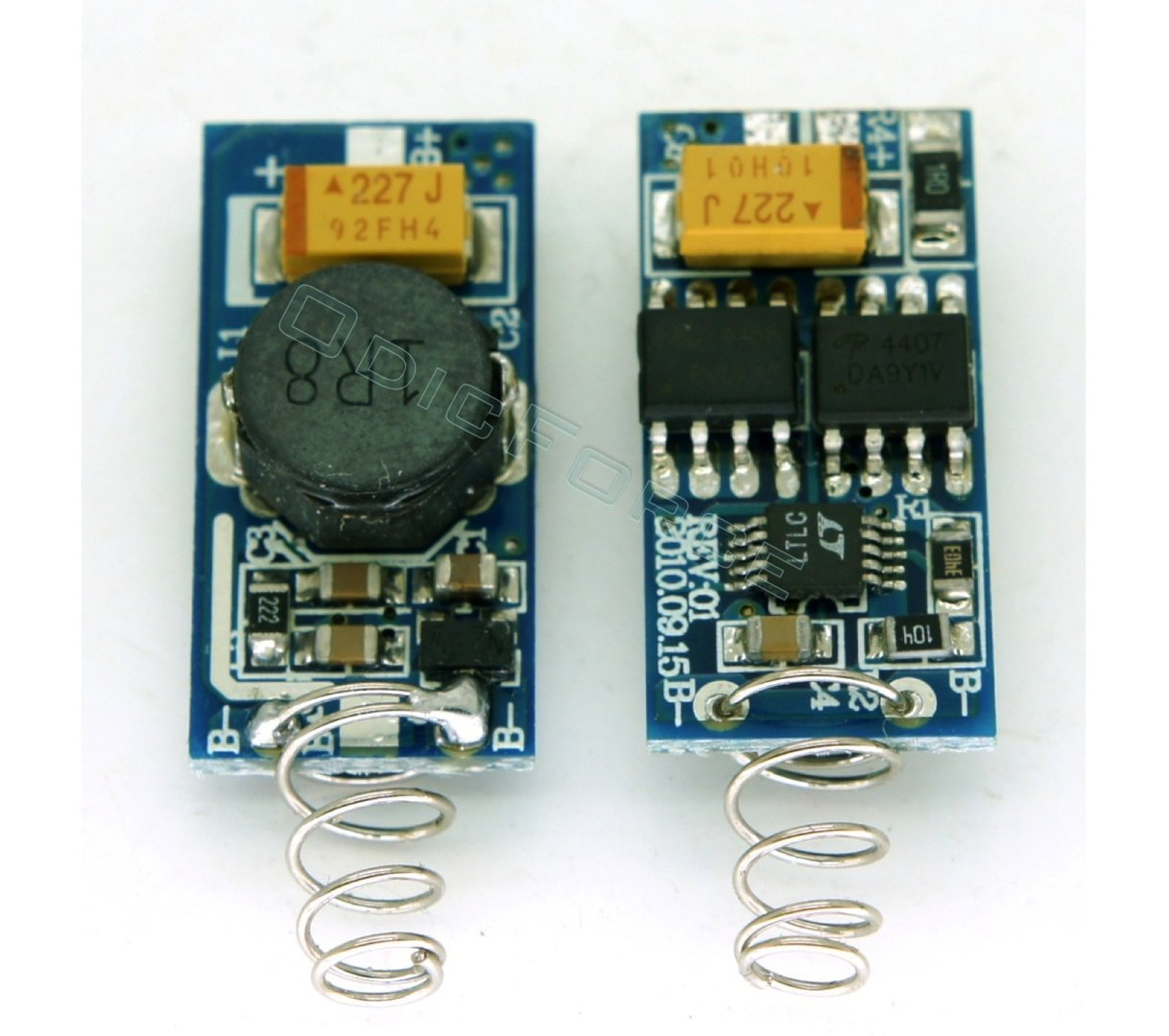 1W Step-up (Boost) Laser Driver Board for 445nm and 405nm LD V2