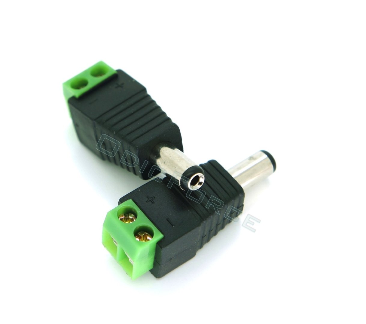 DC Adaptor (Plug) 2.1mm Hole 5.5mm Diameter
