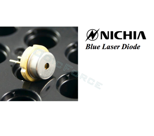Nichia 3.5W+ 450nm Blue Laser Diode (9mm) NDB7A75 (new with tinned pins)