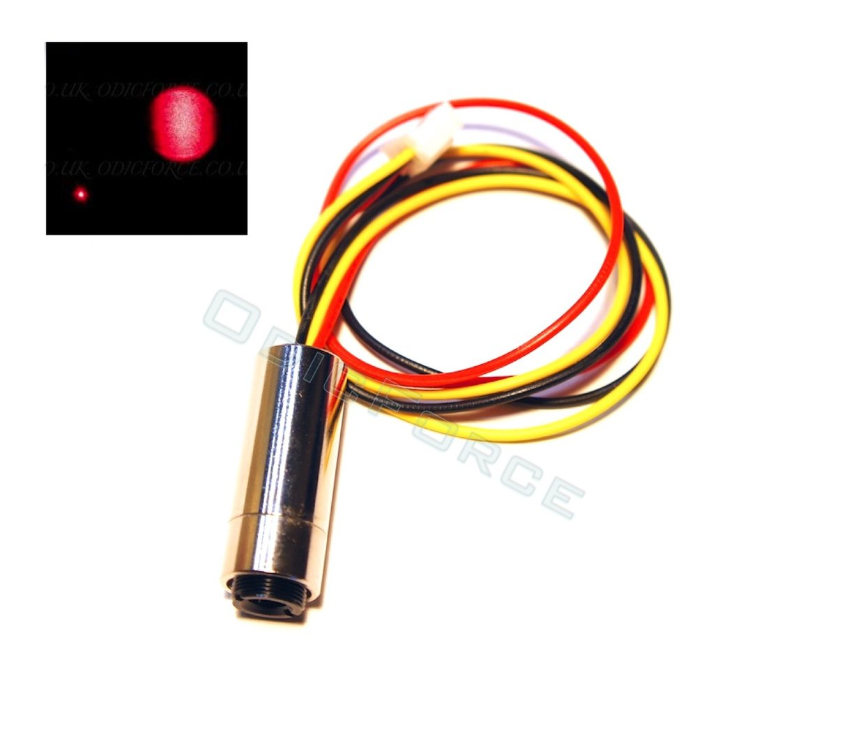 5mW Focusing Red (650nm) Laser Module (12mm) with TTL Driver