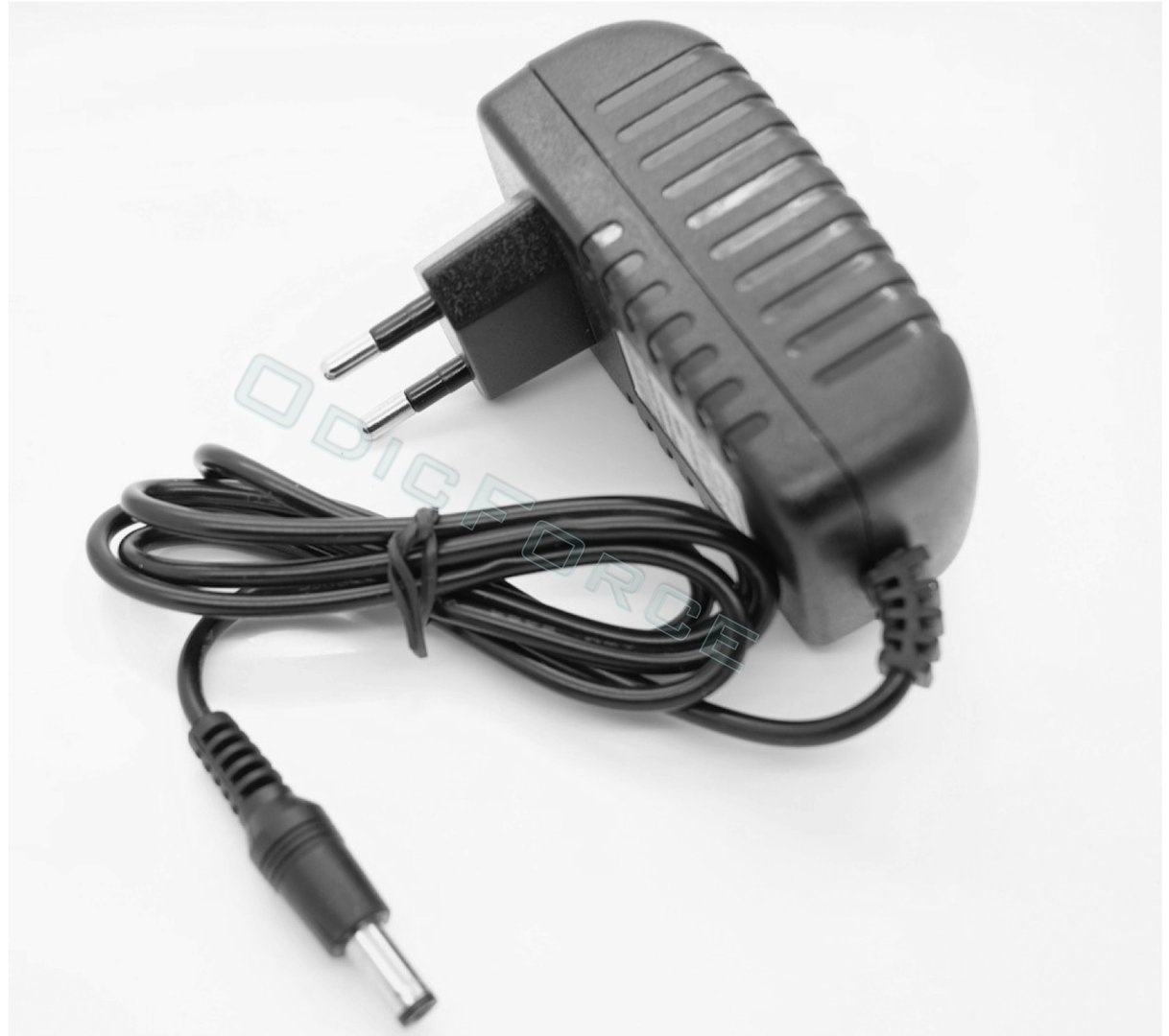 Euro Plug DC 12V 2A Power Supply Adapter 100-240V Input,  5.5mm x 2.1mm Connector