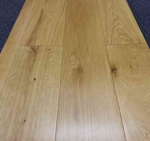 Engineered Oak 150mm wide Lacquered Only £30.83/m2