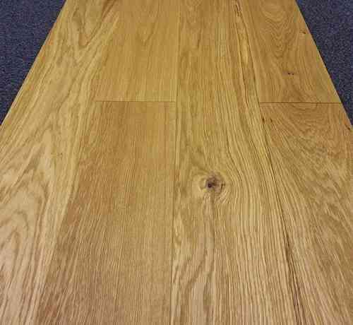 Engineered Oak 125mm wide Brushed & Oiled Only £29.16/m2
