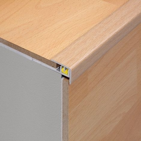 GOLD 2.7m Laminate Floor Step Edge for Stairs by Dural...£24.99