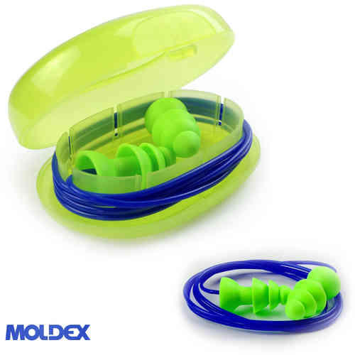 Moldex Reusable Comets Cord Earplugs 6421 SNR:25dB