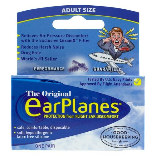 Cirrus Healthcare EarPlanes for Adults - 1 Pair