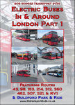 Electric Buses In & Around London Part 1 DVD.