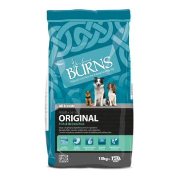 Burns Adult Original Fish & Brown Rice 15kg