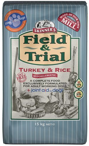 Skinners Field and Trial Hypoallergenic Turkey & Rice 15kg