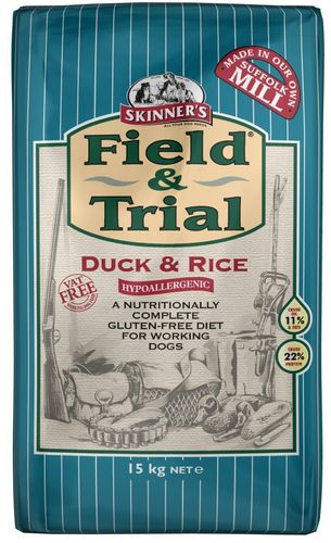 Skinners Field and Trial Hypoallergenic Duck & Rice 15kg