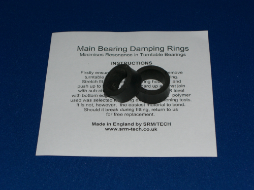 Main Bearing Damping Rings