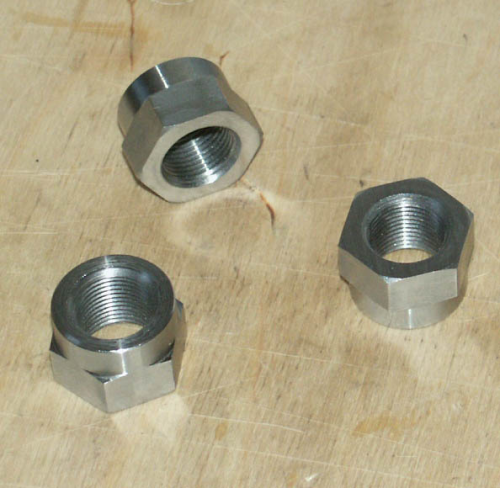 SOHC LH Timing Side Mainshaft Nut