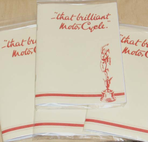 1931 Review and 1932 Norton Range - 'That Brilliant Motorcycle' - Facsimile