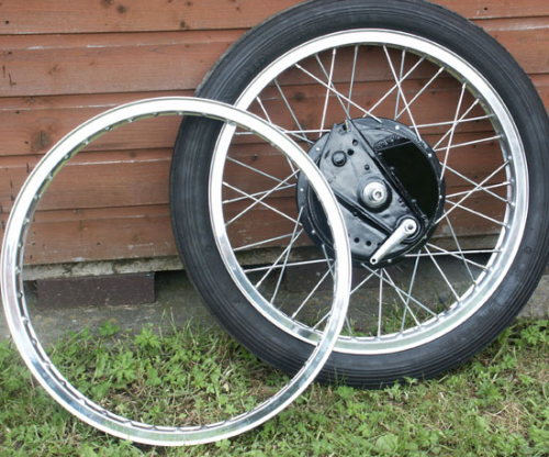 Alloy Front Rim : 21 Inch WM1 Flanged