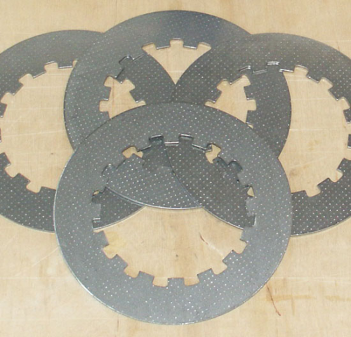 Norton Clutch Plates - Plain (Late Type)