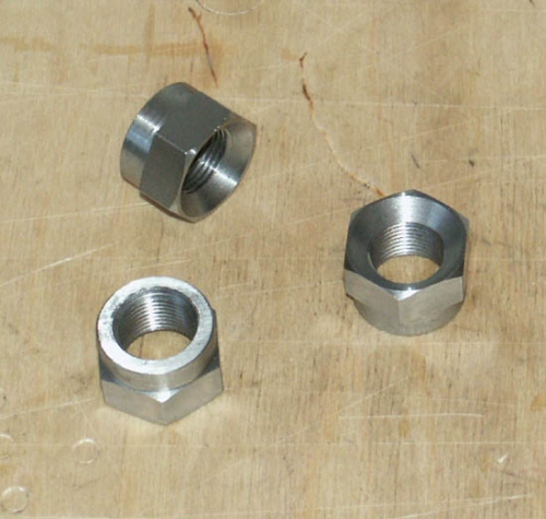SOHC LH Timing Side Mainshaft Nut - Manx