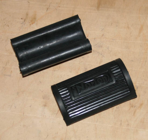 Norton Footrest Rubber - Pair