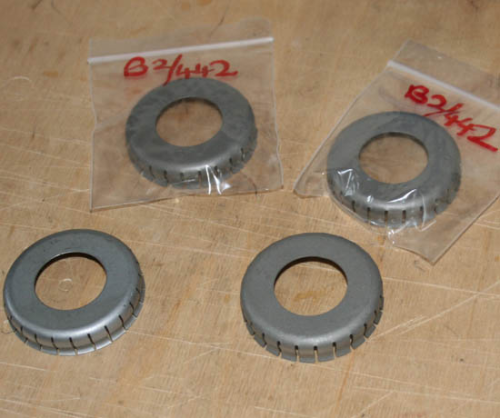 Norton 'Flat Type' Pressed Wheel Bearing Dust Cover