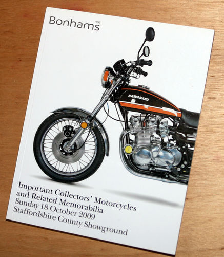 Bonhams Catalog - 18th October 2009: Staffordshire Motorcycle Auction