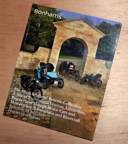 Bonhams Catalog - 18th July 2009: Ward Brothers Reserve Collection - Cars & Motorcycle Auction