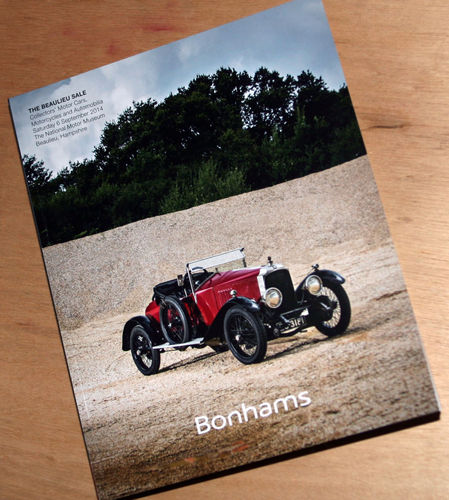 Bonhams Catalog - 06th September 2014: Beaulieu Museum - Cars & Motorcycle Auction
