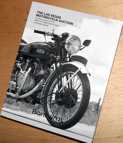 Bonhams Catalog - 8th January 2015: Las Vegas Motorcycle Auction