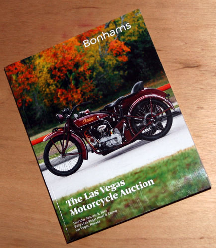 Bonhams Catalog - 9th January 2014: Las Vegas Motorcycle Auction