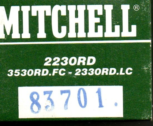Mitchell 2230RD/2230RD.LC/3530RDFC Spool #83701