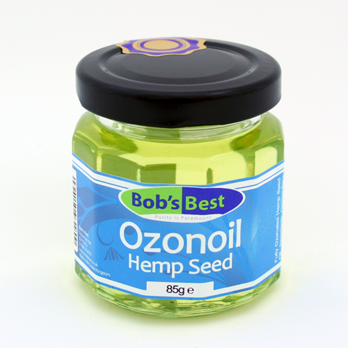 Ozonoil - Ozonated Organic Hemp Seed Oil - 85ml