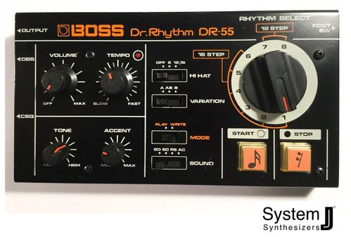 Boss DR-55 Vintage Analogue Drum Machine