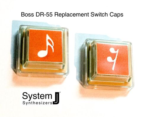 Boss DR-55 Replacement Switch Caps