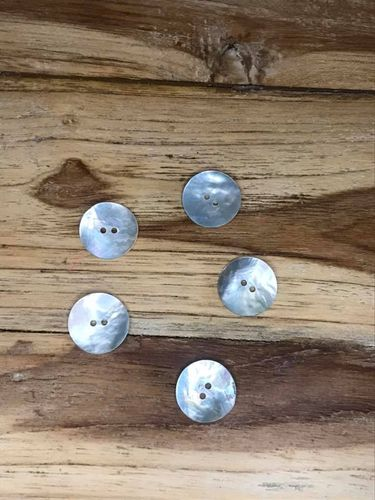 5 Large Mother of Pearl Buttons