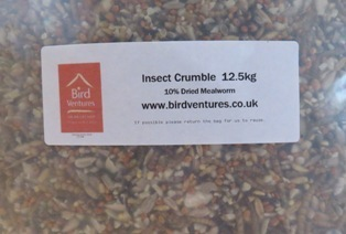 Bird Crumble for Insect Eaters 12.5 kg