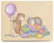 House Mouse Rubber Stamps