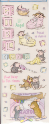 House Mouse Baby Girl
