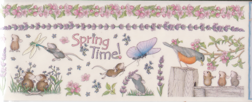 House Mouse Spring Time