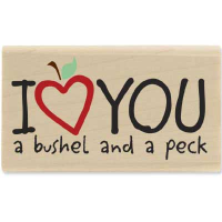 I Love You a Bushel and a Peck