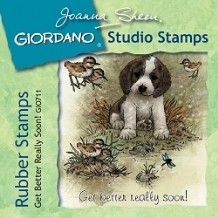 Giordano Rubber Stamps - Get Better Really Soon