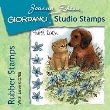 Giordano Rubber Stamps - With Love