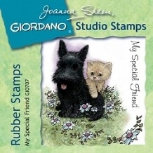 Giordano Rubber Stamps - My Special Friend