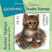 Giordano Rubber Stamps - Another Birthday