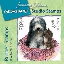 Giordano Rubber Stamps - How Are You