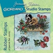 Giordano Rubber Stamps - A Special Pair