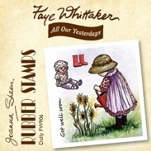 Faye Whittaker Rubber Stamps - Dolly