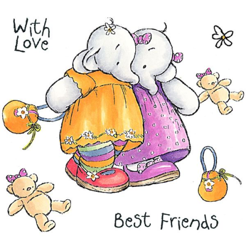 Humphrey's Corner - Best Friends Stamp Set