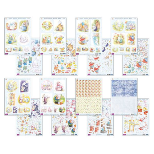 Humphrey's Corner Die Cut Decoupage Everyday Collection