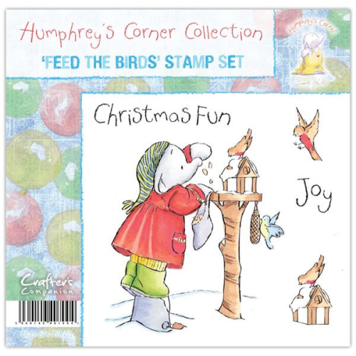 Humphrey's Corner Christmas - Feed the Birds Stamp Set