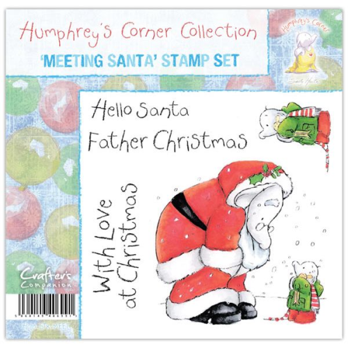 Humphrey's Corner Christmas - Meeting Santa Stamp Set
